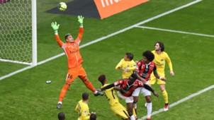 Nice PSG Ligue 1 Areola Balotelli