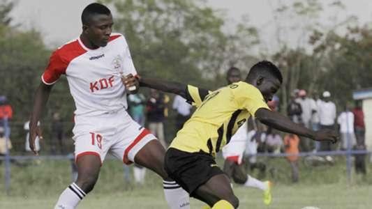 Ulinzi Stars defender Omar Mbongi.