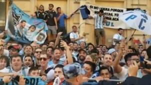 Argentina Fans Hotel San Petersburgo