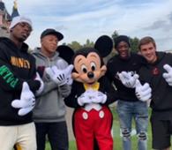 Pogba, Mbappé, Dembele, Griezmann és Mickey Mouse