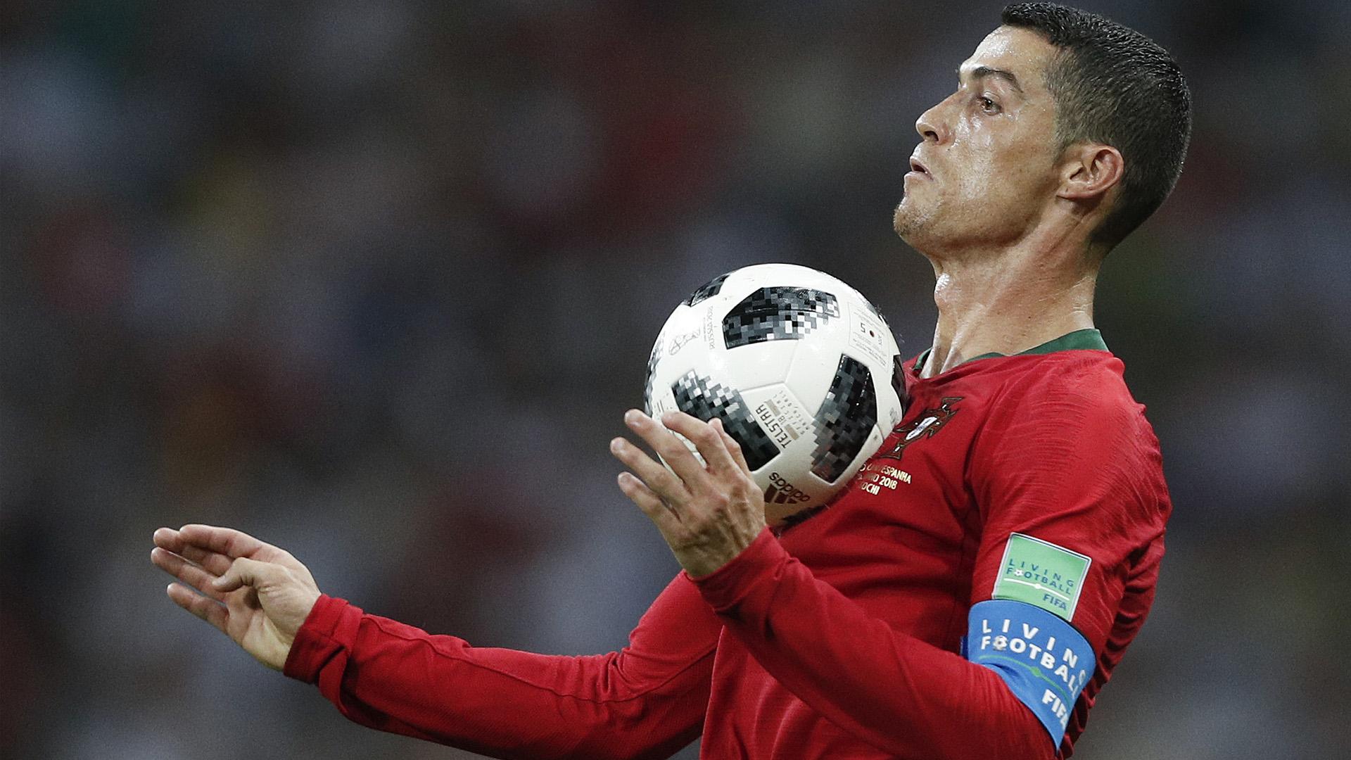 Cristiano Ronaldo Portugal x Espanha Copa do Mundo 15 06 18