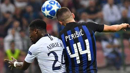 Aurier Perisic Inter Tottenham Champions League