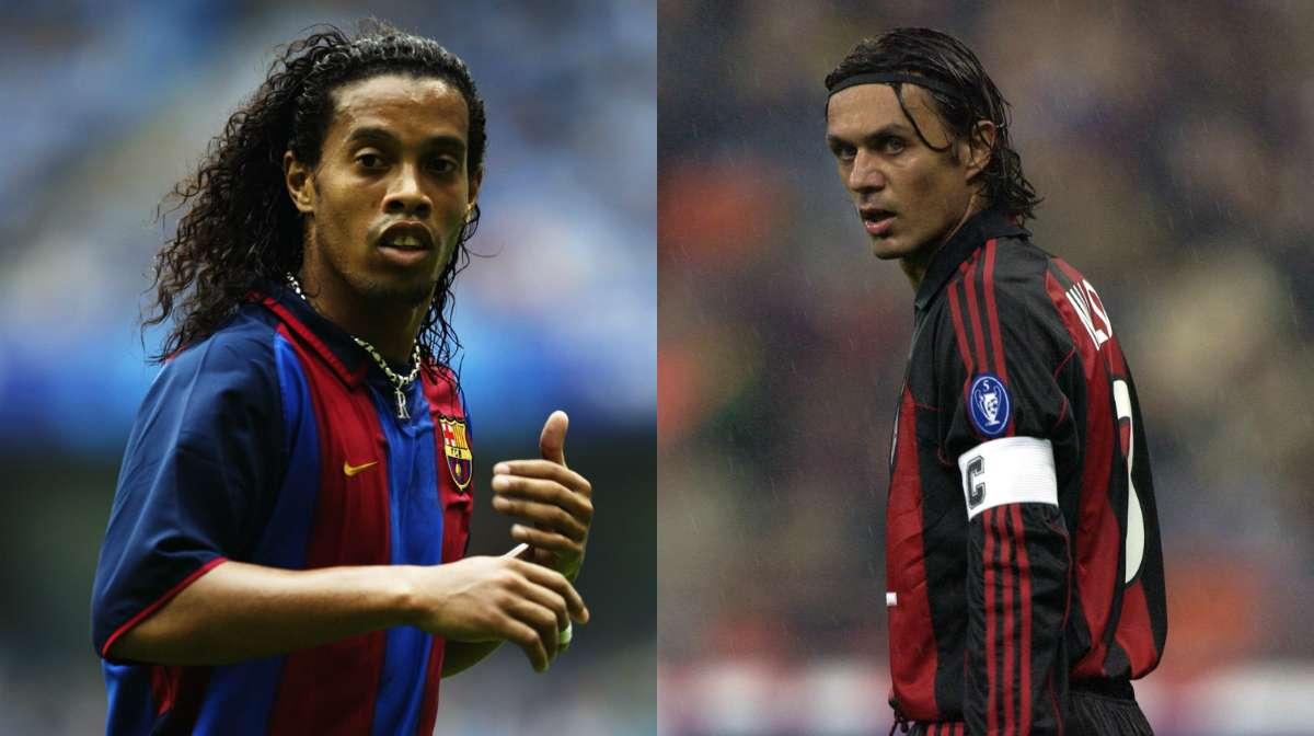 GFX Ronaldinho Maldini