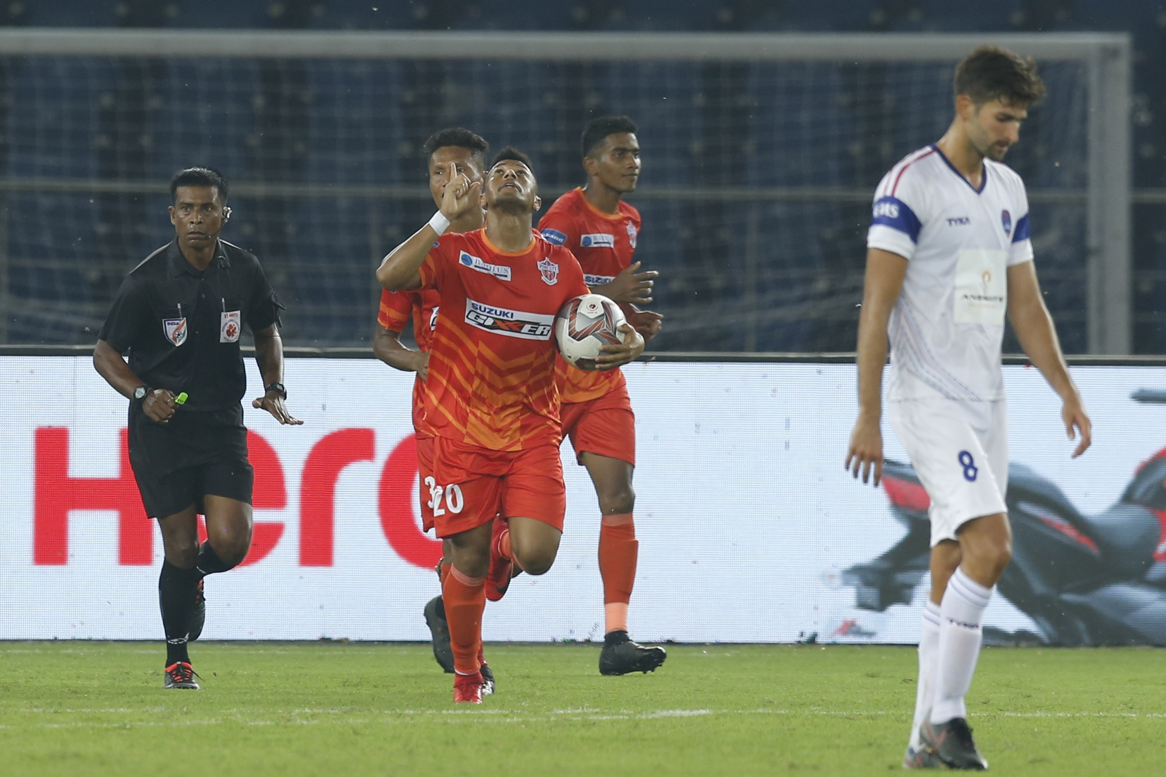 Diego Carlos Delhi Dynamos vs Pune City