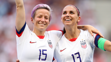 Megan Rapinoe Alex Morgan USWNT World Cup 2019