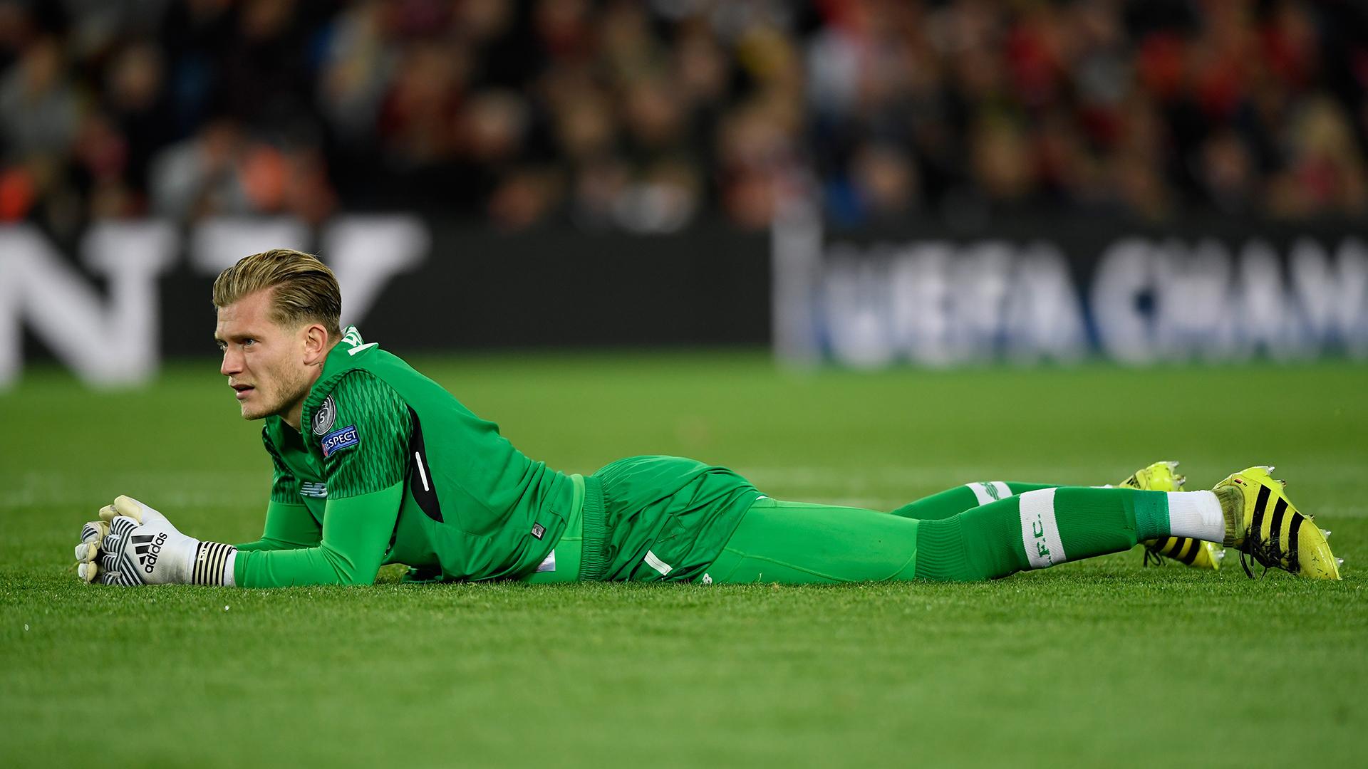 Loris Karius Liverpool Sevilla