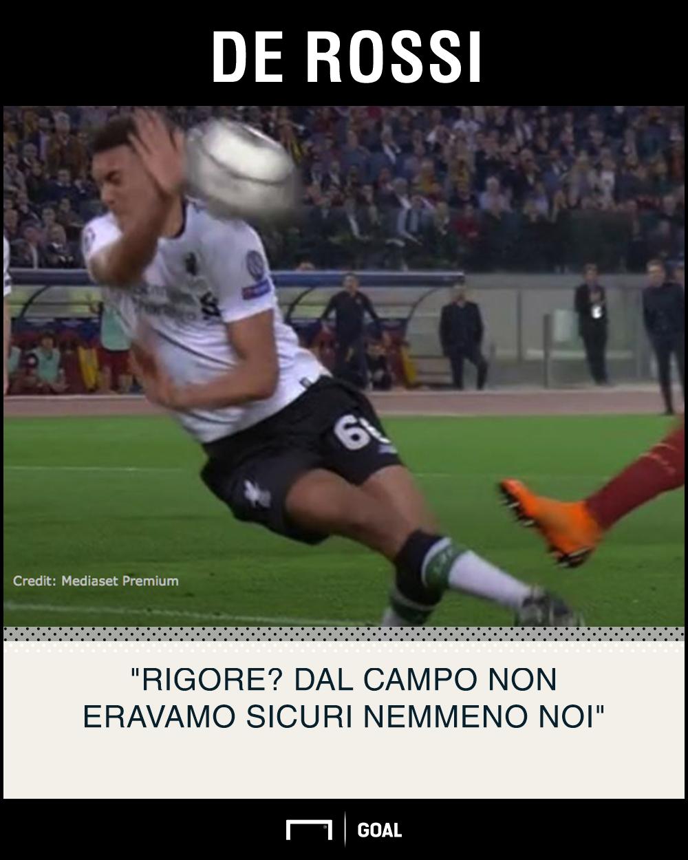 PS De Rossi - Roma-Liverpool