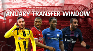 Deadine January 2018 transfers windown