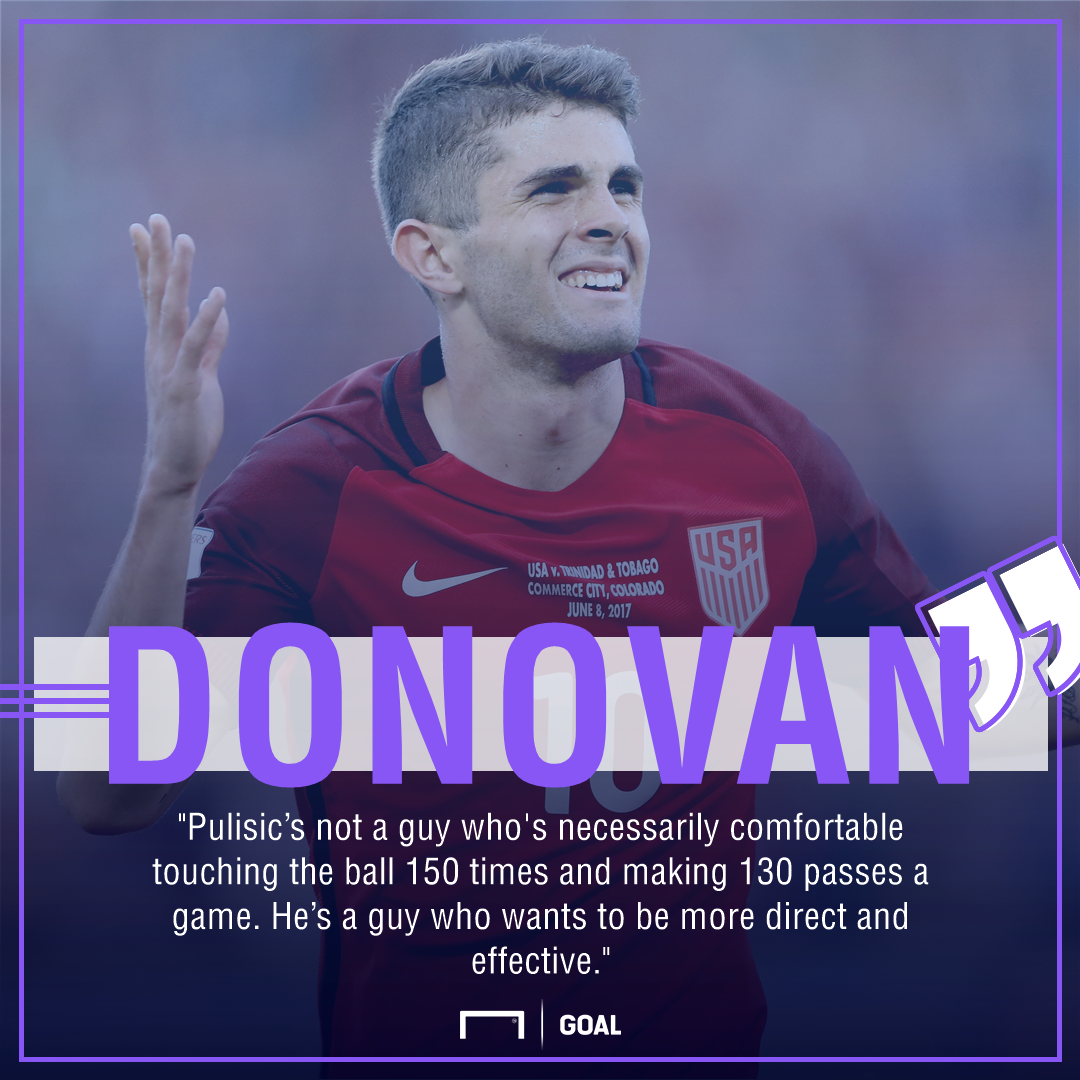 Donovsn Pulisic quote gfx
