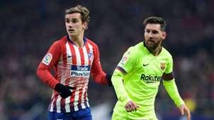 Antoine Griezmann & Lionel Messi