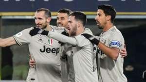 Juventus celebrate 2018-19
