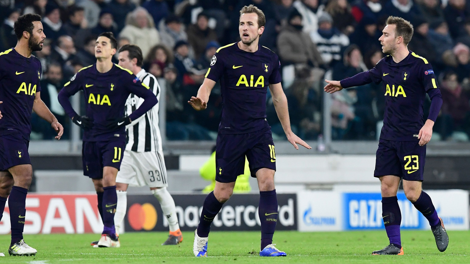 Harry Kane Juventus Tottenham Champions League
