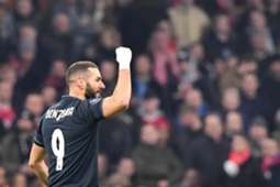 BENZEMA AJAX REAL MADRID CHAMPIONS LEAGUE
