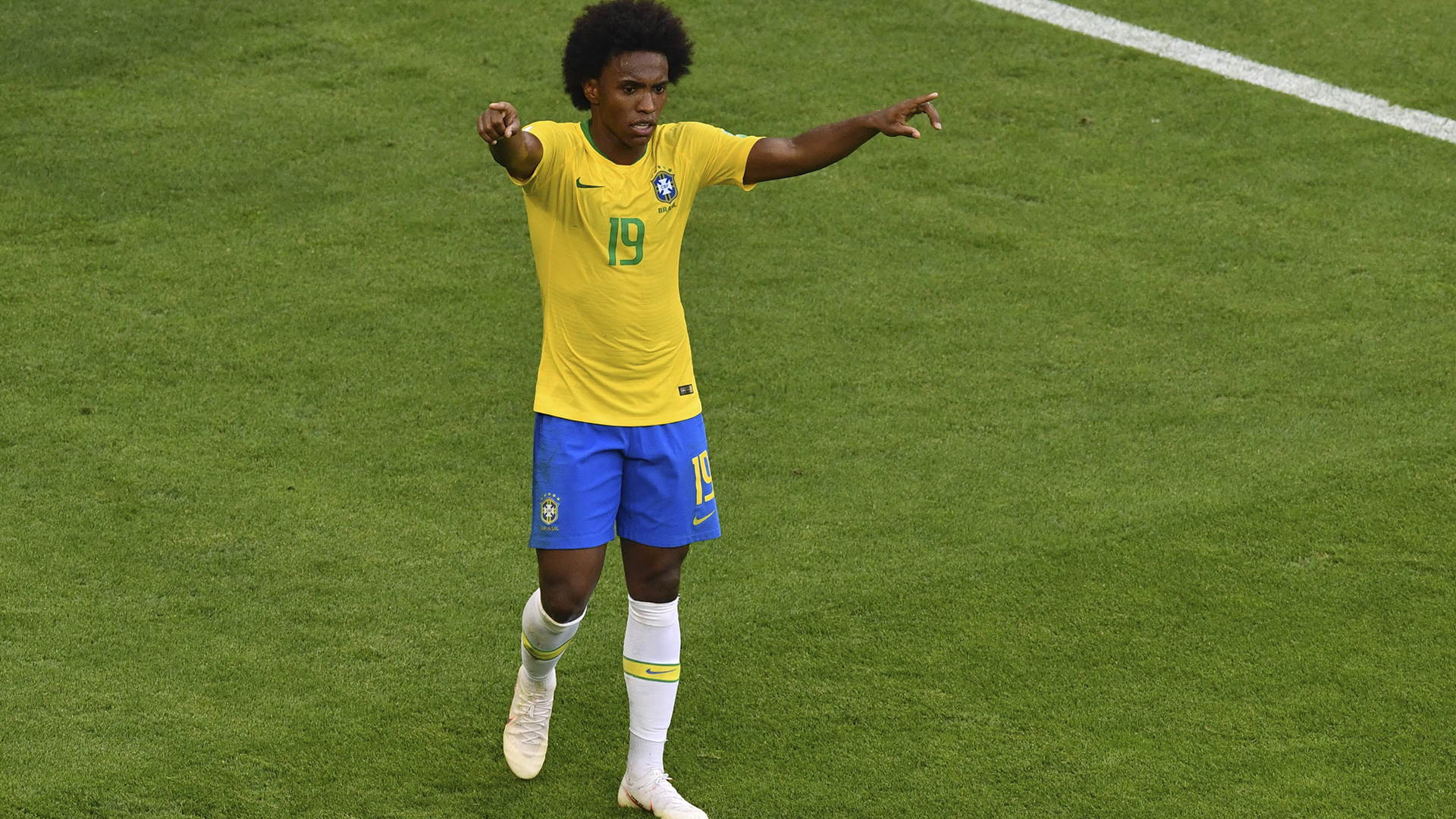 Willian Brasil x México Copa do Mundo 02 17 18
