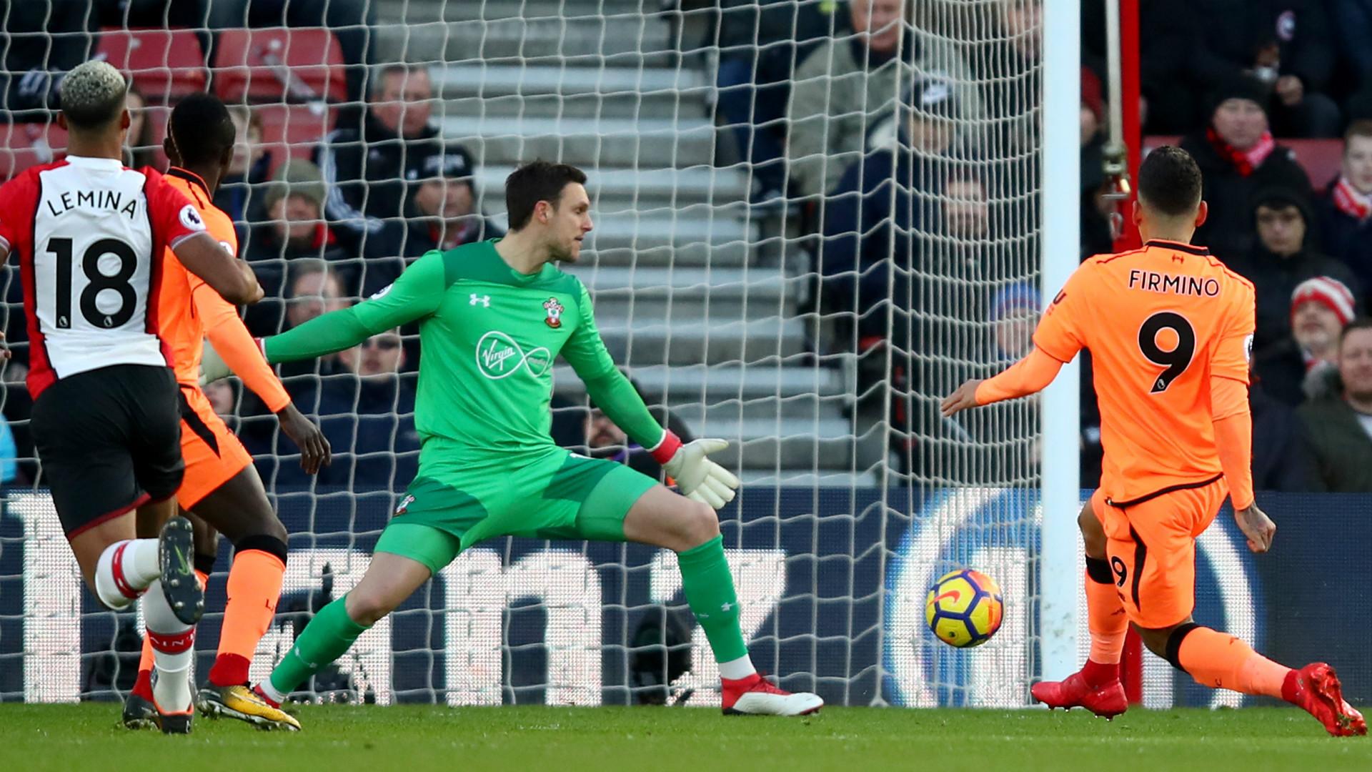 Firmino goal v Southampton