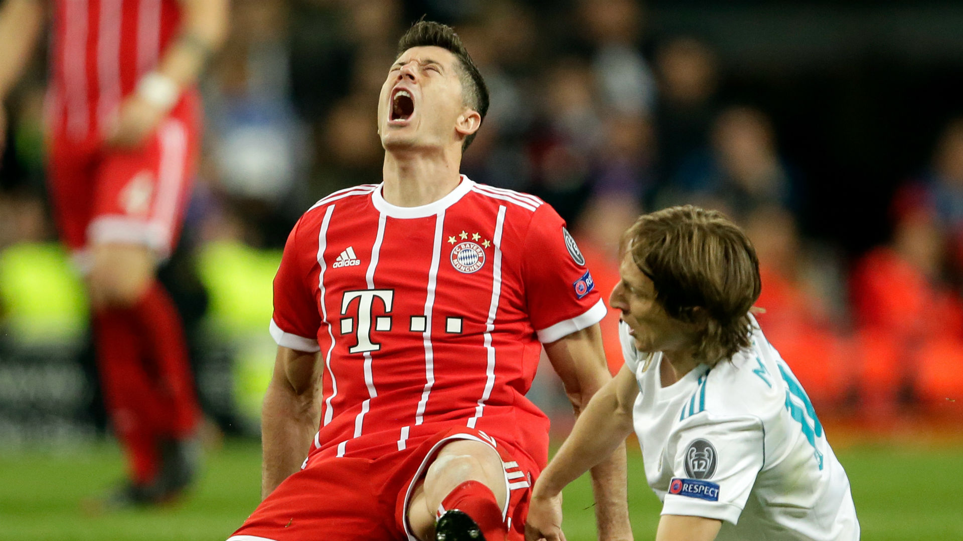 Lewandowski Real Madrid Bayern Champions League 05 05 2018