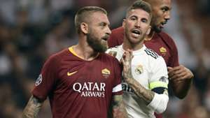 Daniele De Rossi Real Madrid Roma Champions League