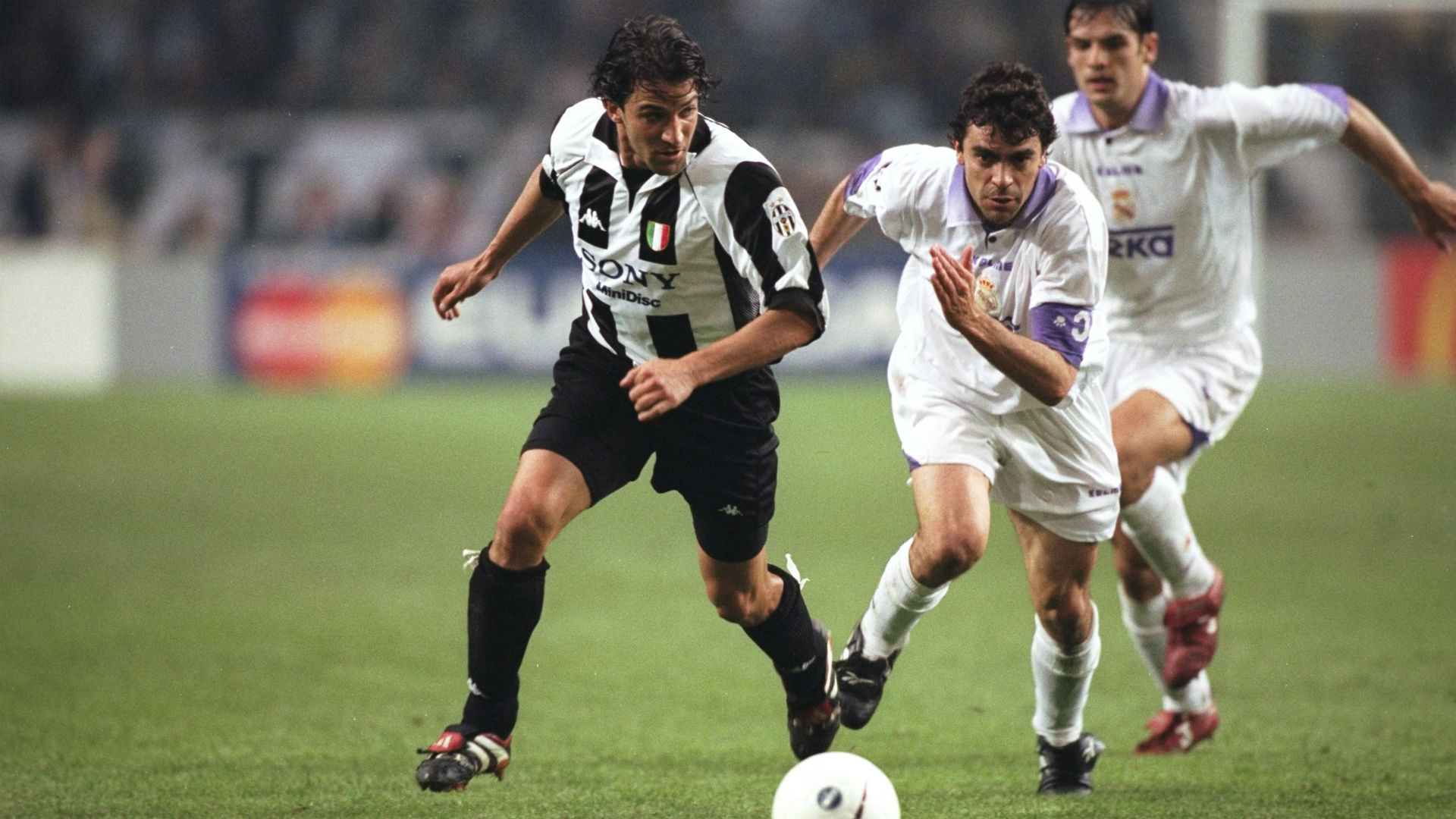 Del Piero Juventus Sanchis Real Madrid