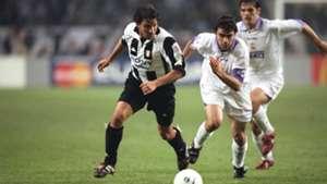Del Piero Juventus Sanchis Real Madrid
