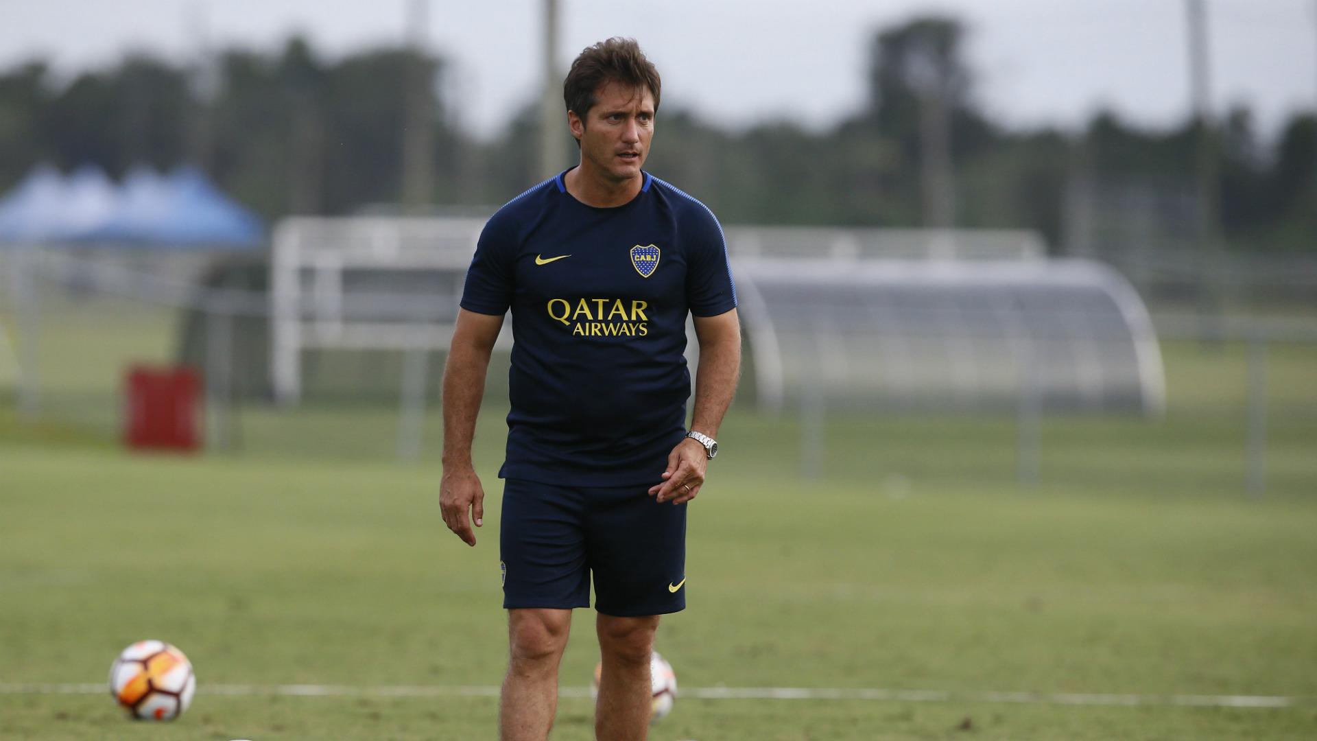 Guillermo Barros Schelotto Boca Pretemporada 2018