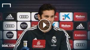GFX Santiago Solari Real Madrid