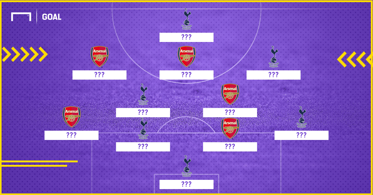 Mixed Formation Arsenal - Tottenham