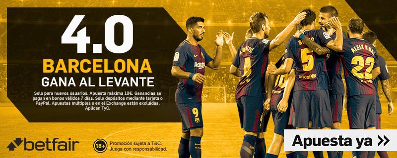 Betfair Levante Barcelona