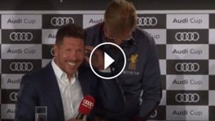 Video Simeone Klopp