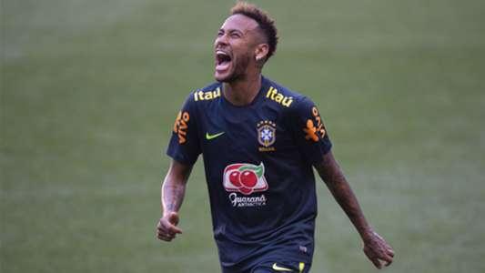Neymar Brasil treino 04 09 18