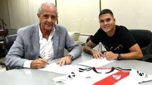 Juan Fernando Quintero Rodolfo D'Onofrio River Plate 2019