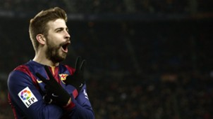 Gerard Piqué celebration Barcelona
