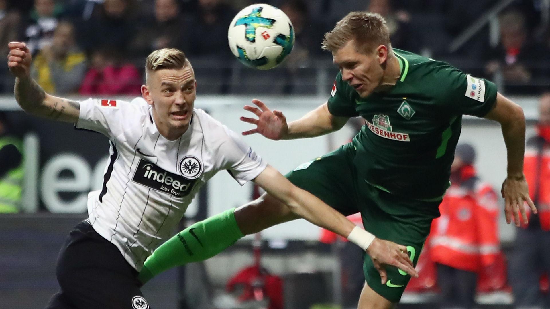 Marius Wolf Aron Johannsson Frankfurt Werder Bremen