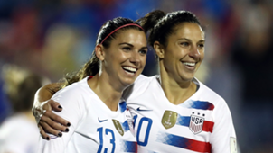 Alex Morgan Carli Lloyed USWNT 2018
