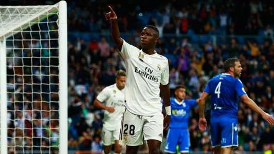 Vinicius Junior Real Madrid Melilla Copa del Rey 06122018
