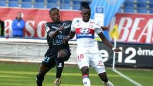 Charles Traore Bertrand Traore Troyes Lyon Ligue 1 22102017
