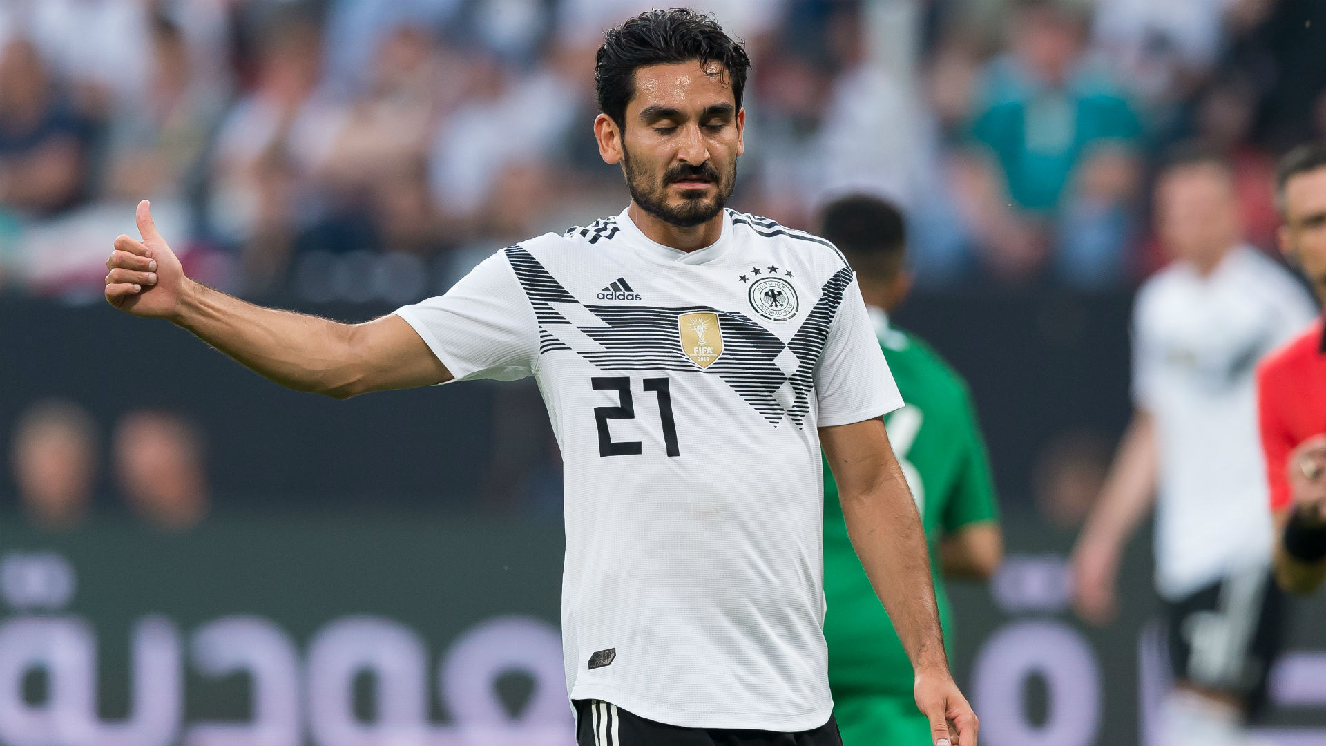Germany survive late scare against Saudis to end winless streak