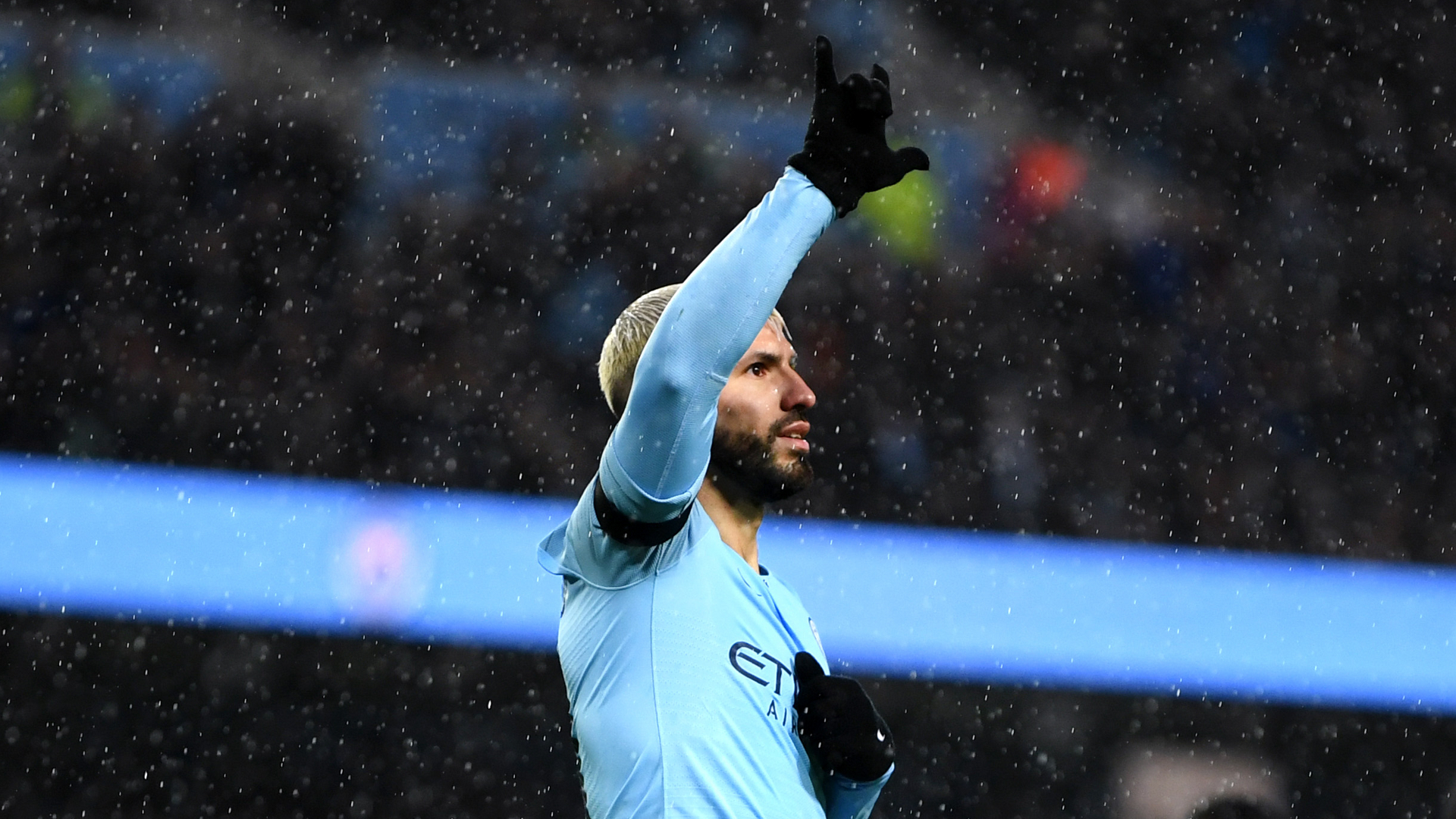 Sergio Aguero Manchester City Burnley