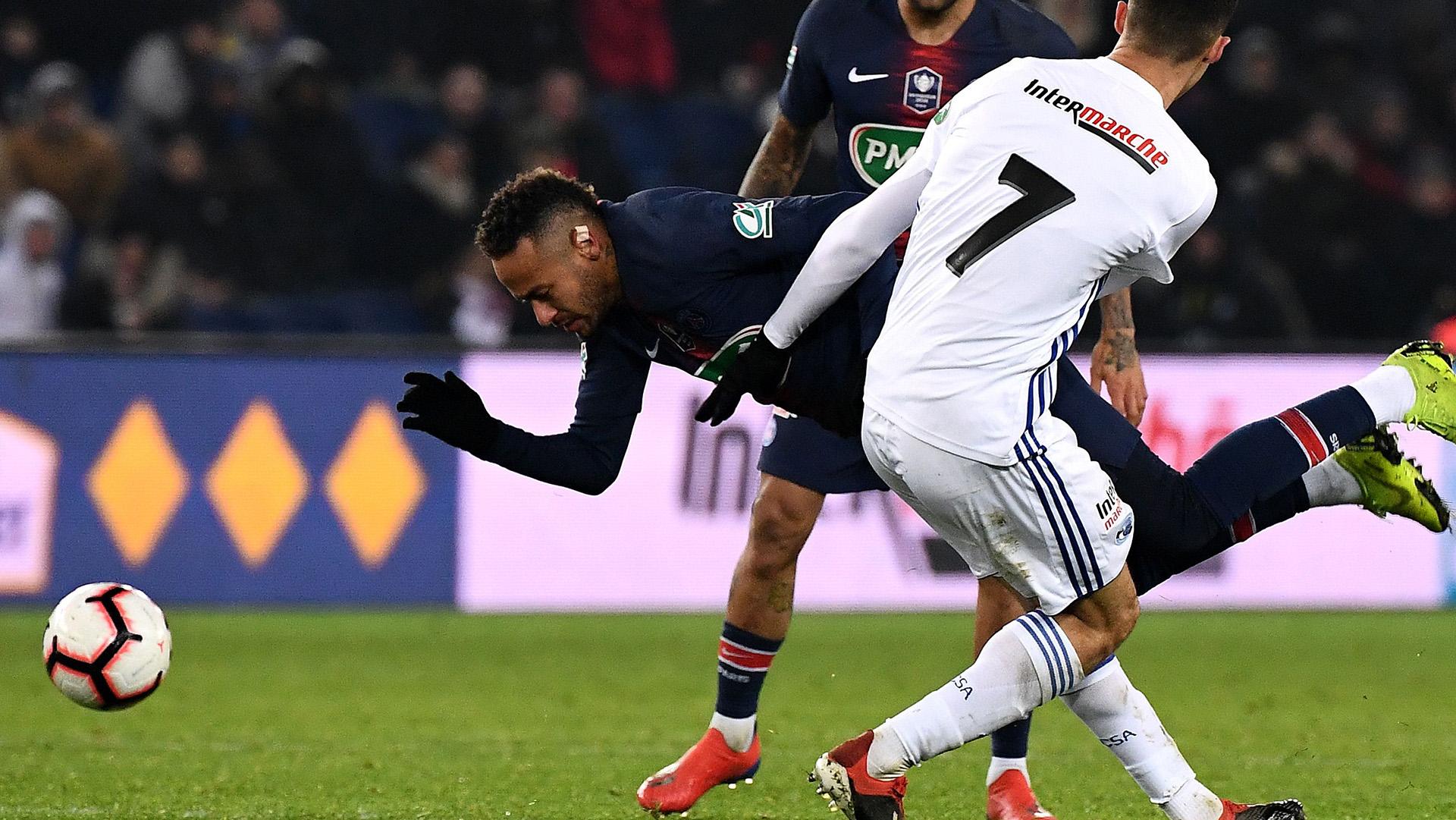 Por Que Neymar Não Está Jogando Contra O Manchester United