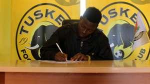 Faraj Ominde of Tusker.