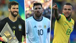 Alisson Messi Dani Alves