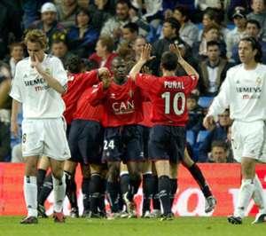 Osasuna real madrid 2004
