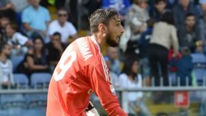 Gianluigi Donnarumma, Milan, Serie A, 24092017