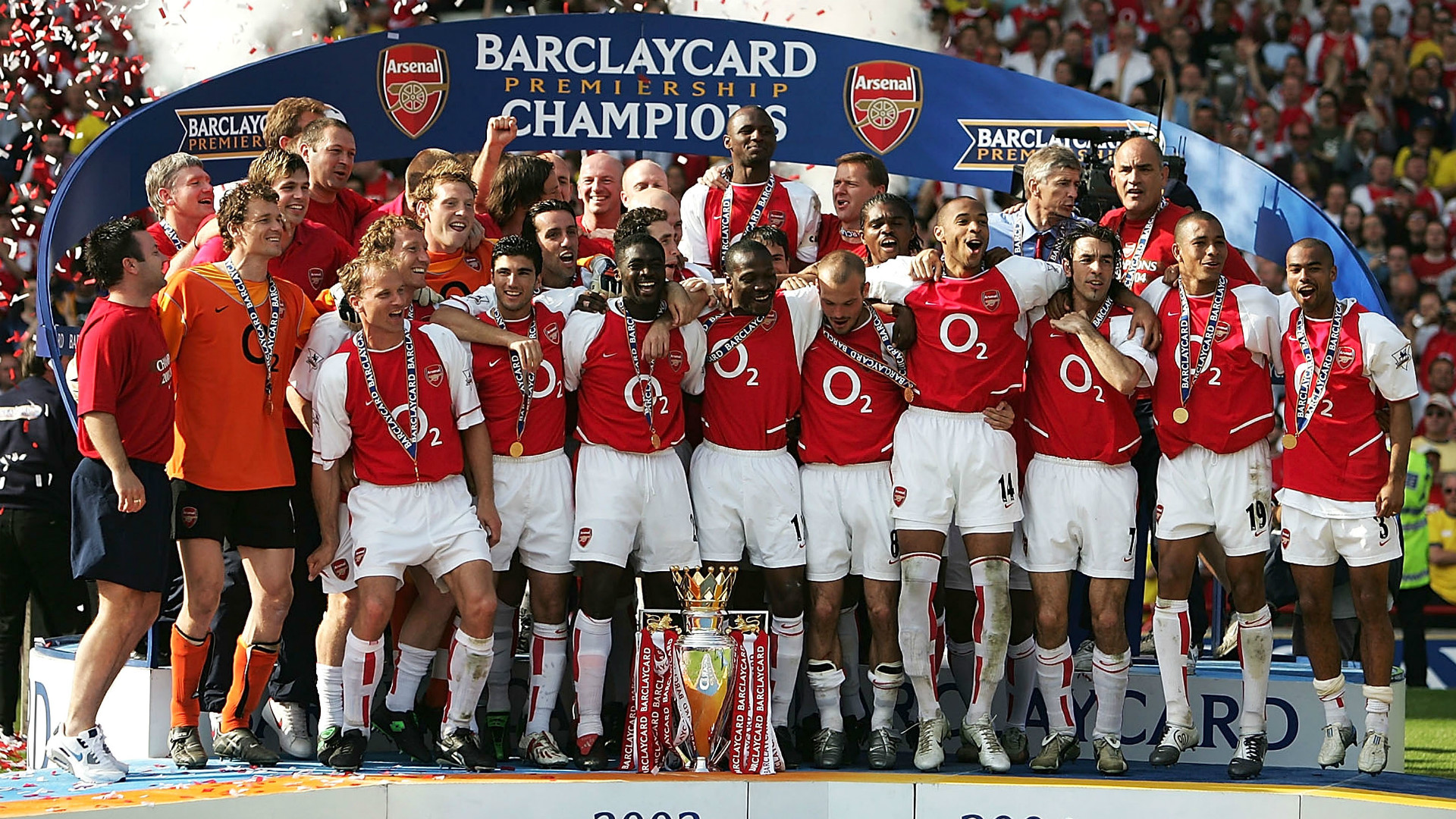 Image result for 03/04 arsenal invincible