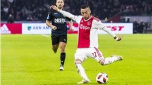 Hakim Ziyech, Ajax, 11032018