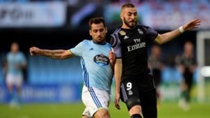 Karim Benzema Jonny Castro Real Madrid Celta LaLiga 17052017