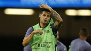 James Rodriguez Real Madrid
