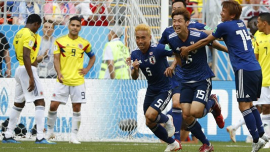 Japon Colombia WC Russia 19062018