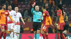 Younes Belhanda Baris Simsek Galatasaray Antalyaspor 02122018
