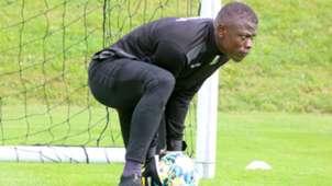 Harambee Stars keeper Patrick Matasi.