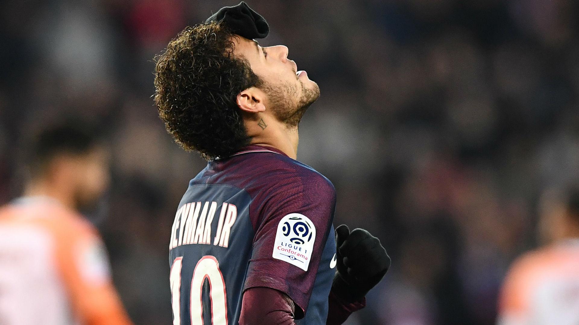 Neymar PSG Montpellier